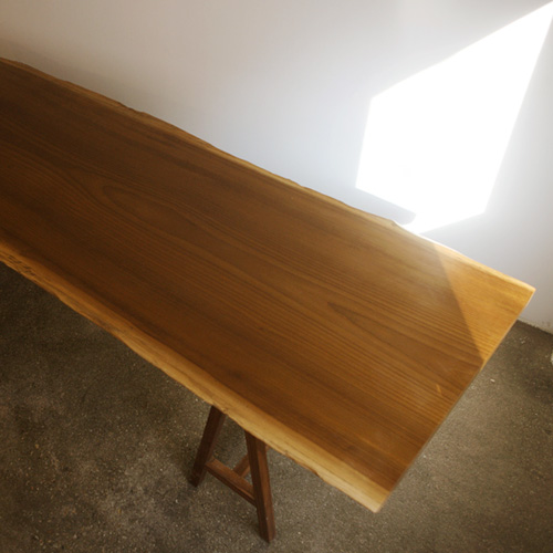 gt04. golden afromosia table
