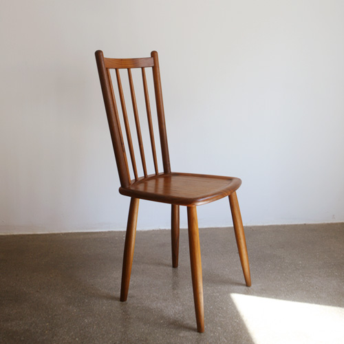 wc10. walnut chair