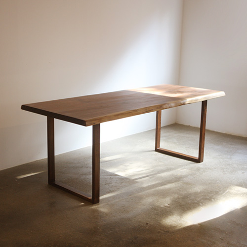 frame woodslab table
