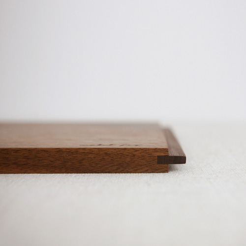 No.02 walnut wood tray / board