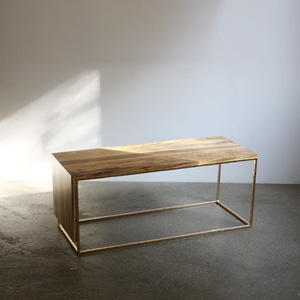contemporary frame forged table
