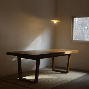 authentic woodslab table